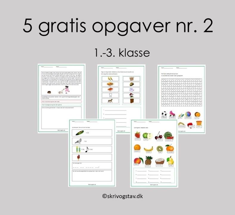 Bogstaver 5 i rækkefølge alfabetisk ord med Å (bogstav)
